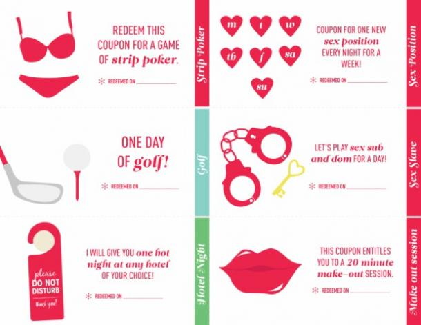 lover coupon book