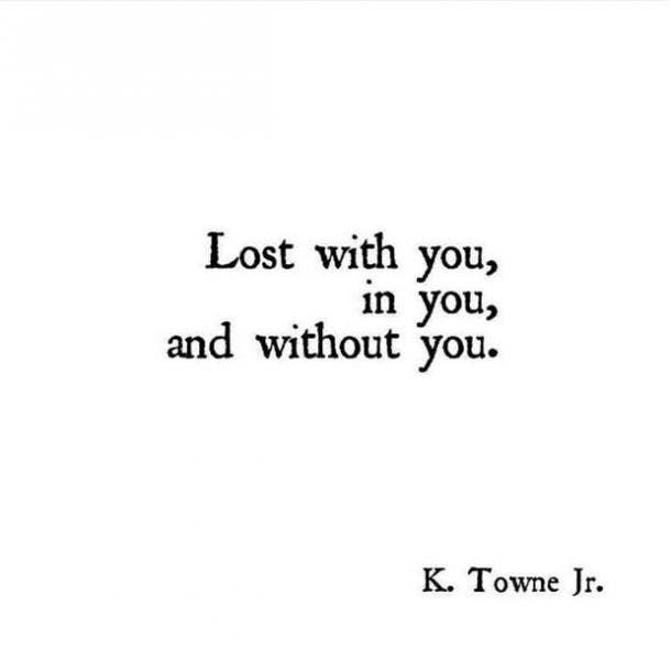 K Towne Jr sweet love quote