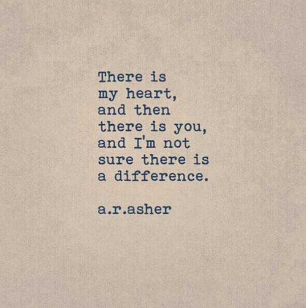 AR Asher sweet love quote