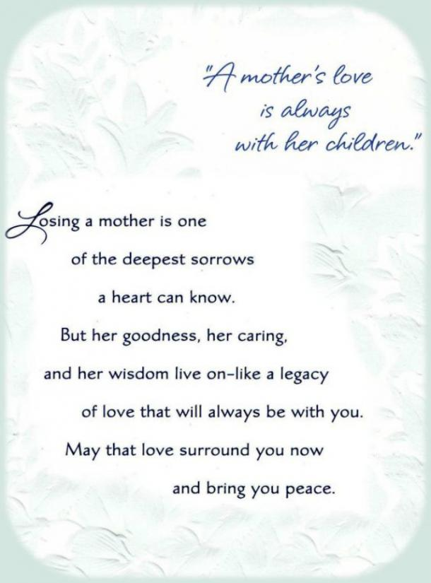 20 Beautiful Mothers Day Quotes For Those Grieving After The ...