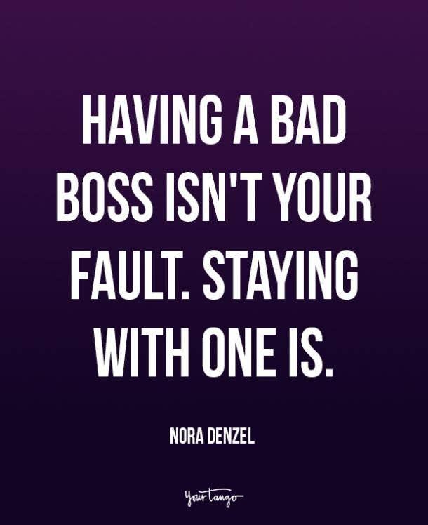 nora denzel bad bosses quotes