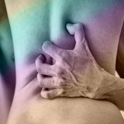 Natural tits and blowjob