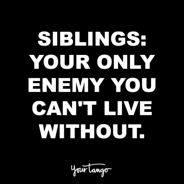 21 Best Quotes For Your National Sibling Day Instagram Post Caption Yourtango
