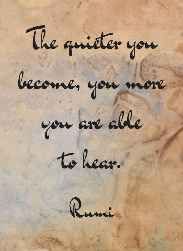 rumi inspirational quotes