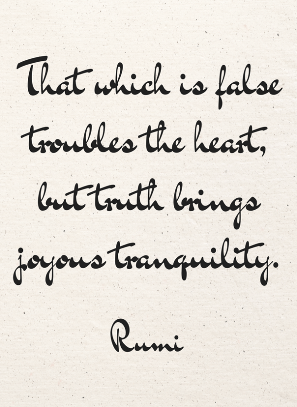 rumi quote on peace