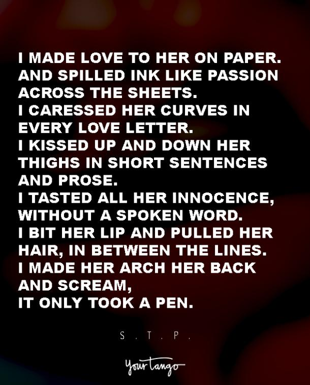 5 Sexy Love Poems Guaranteed To Turn Anyone On Yourtango