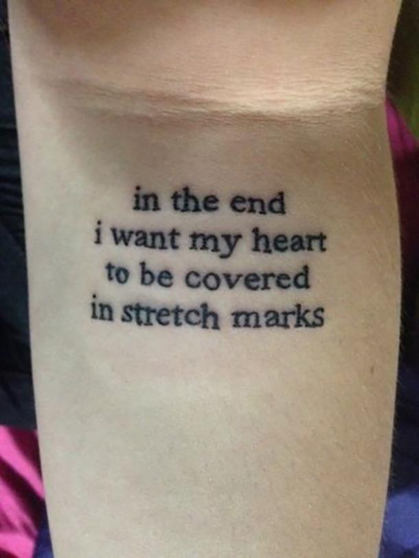 16 Best Stretch Mark Tattoos That Will Make You Love Your Body