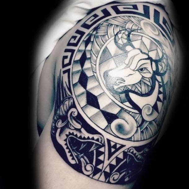 25 Best Constellation Tattoos & Bull Tattoos For Taurus Zodiac Signs ...