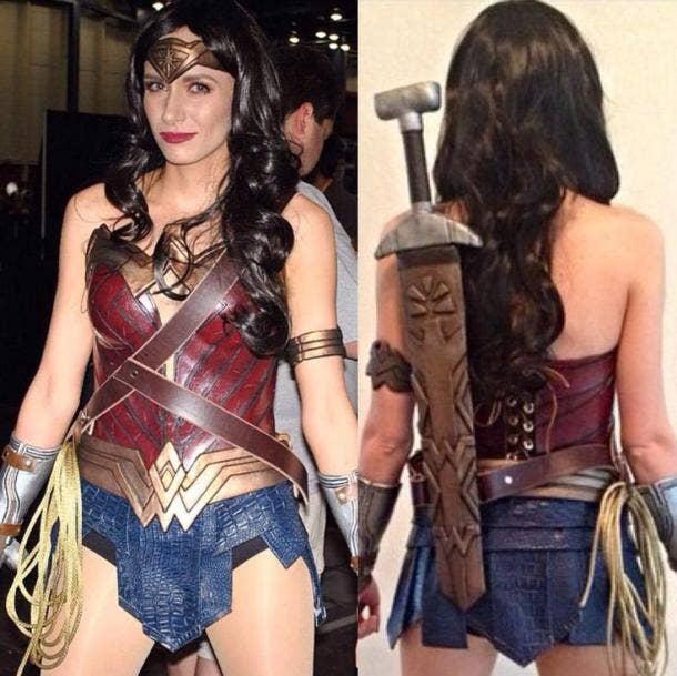 Wonder woman dress up-1121