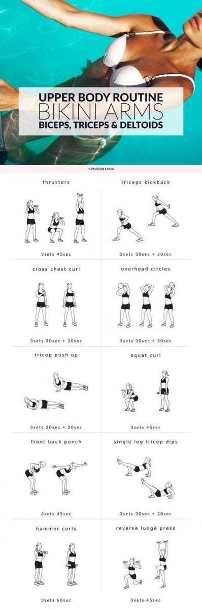 summer body workout plan