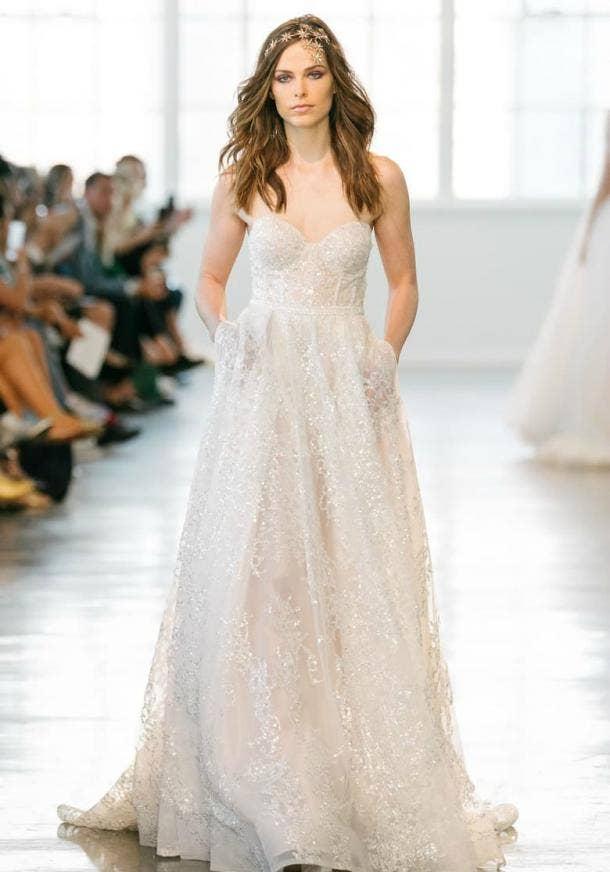 20 Best Empire-Waist Wedding Dresses Of All Time | YourTango