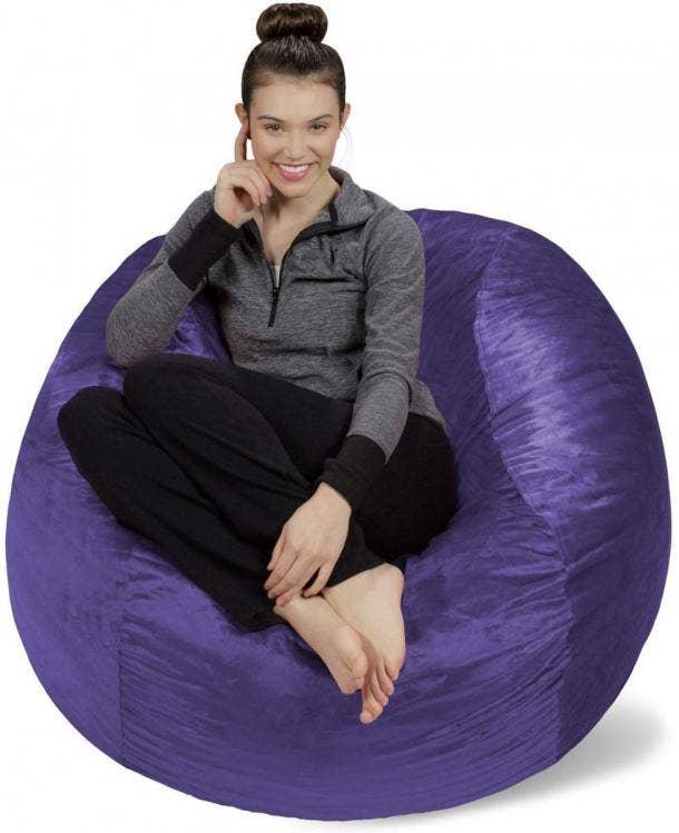 Fantastic 21 Best Bean Bag Chairs At All Price Points Yourtango Creativecarmelina Interior Chair Design Creativecarmelinacom