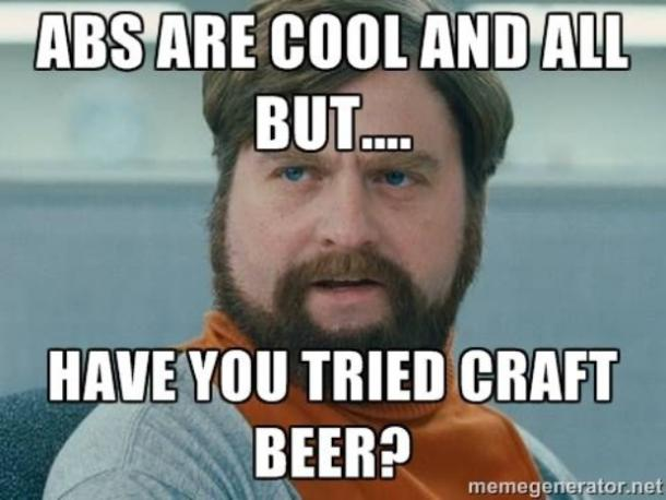 beer memes abs are cool and all