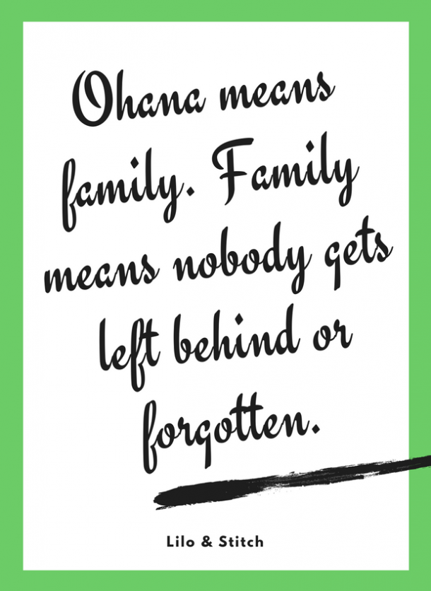 lilo and stitch motivational quote for kids