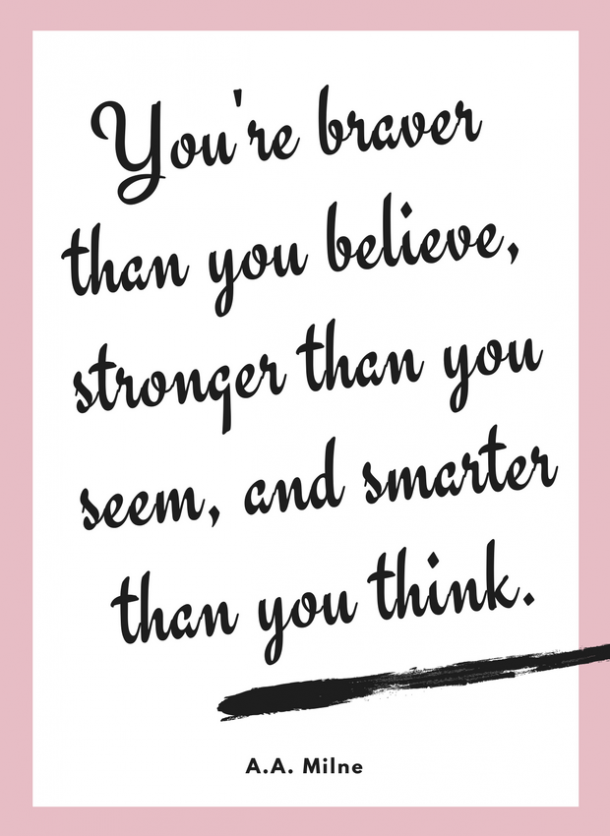 aa milne motivational quote for kids