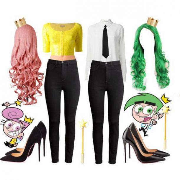 fairy odd parents costume accessories best friend halloween costumes