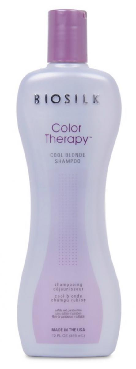 BioSilk Color Therapy Cool Blonde Shampoo best toner for blonde hair