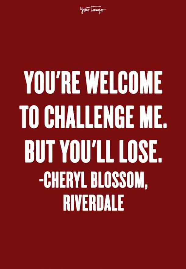 Savage Cheryl Blossom Quotes From 'Riverdale'