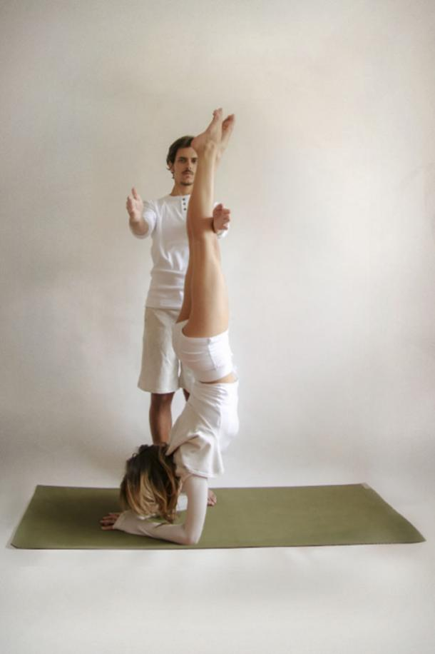 20. Forearm Standing Pose.