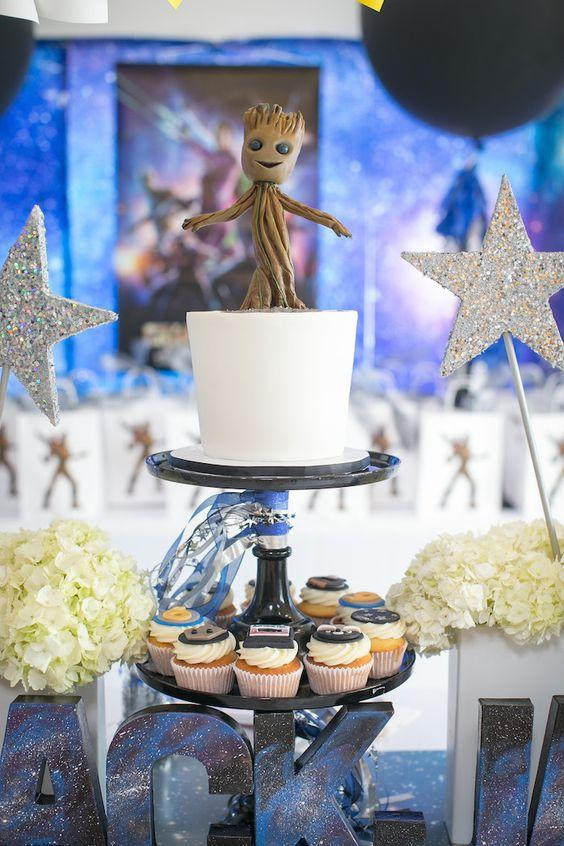 Guardians of the Galaxy adult birthday party idea