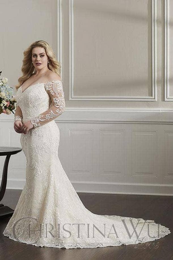 30 Best Wedding Dresses For Plus Size Brides Yourtango