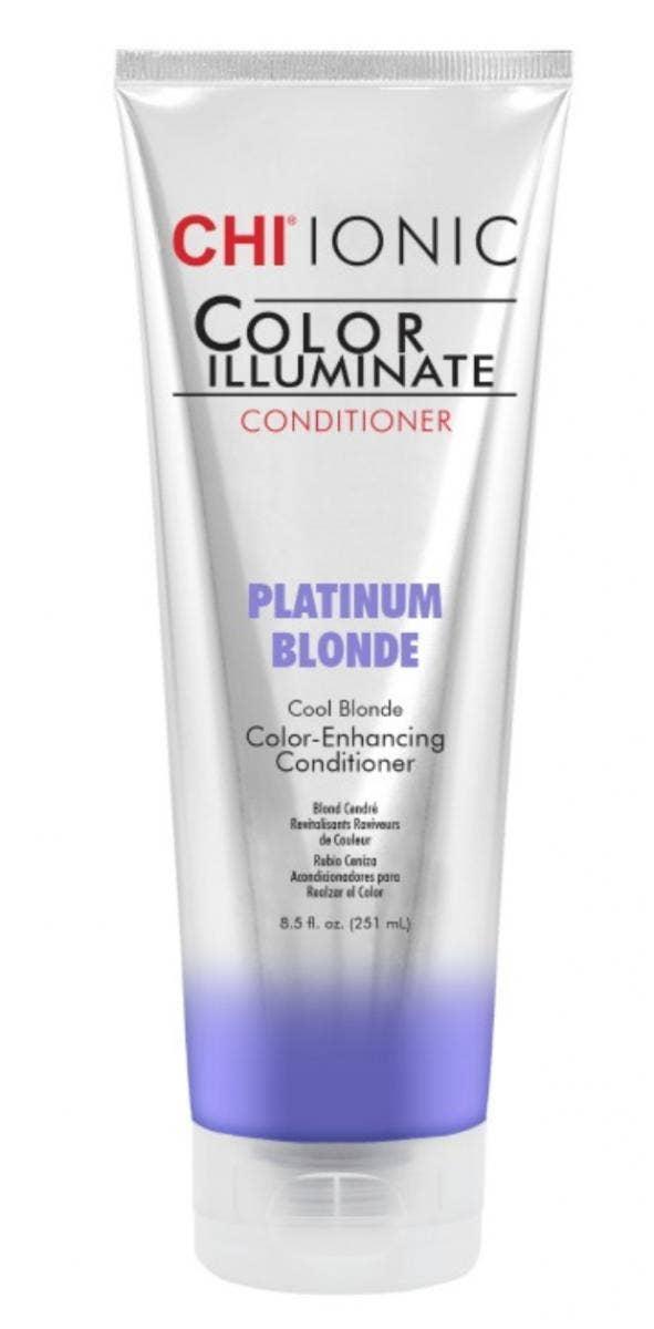 CHI Ionic Color Illuminate Conditioner in Platinum Blonde best toners for blonde hair