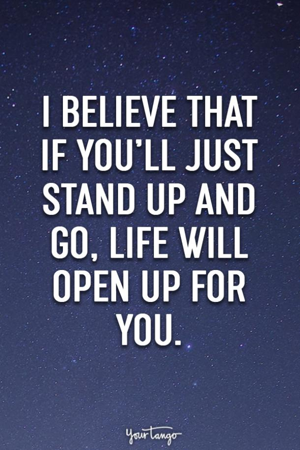 self assured quotes confident quotes stand up for what you believe in