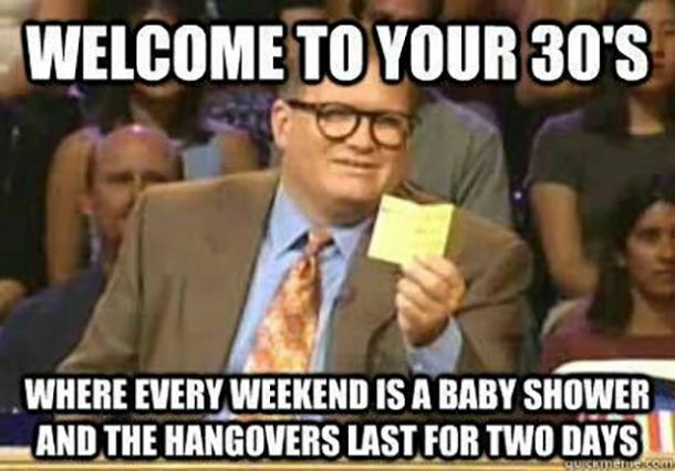 welcome to your 30s 30th birthday meme