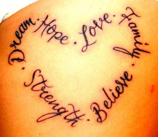 25 Female Quote Tattoos About Strength To Inspire You Every ...