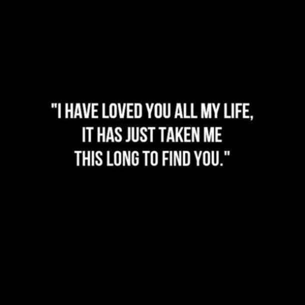 O que quer dizer because you loved me