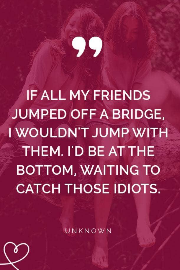 40 Short Cute Best Friend Quotes About True Friendship
