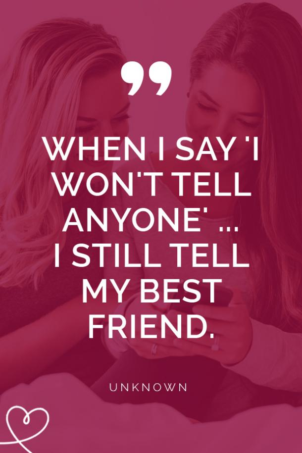 40 Short, Cute Best Friend Quotes About True Friendship ...