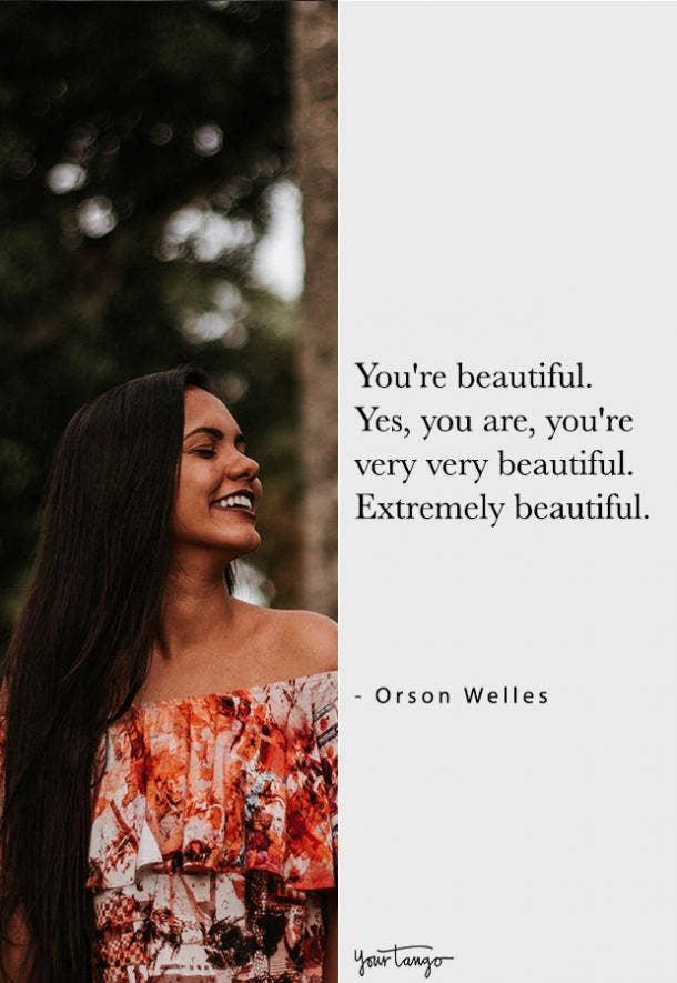 Orson Welles compliment quote