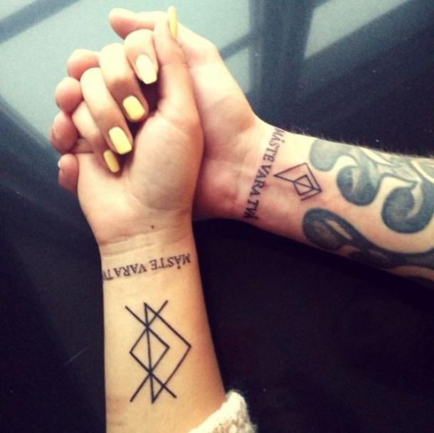 20 Rune Tattoos For Women Using The Viking Elder Futhark That Have