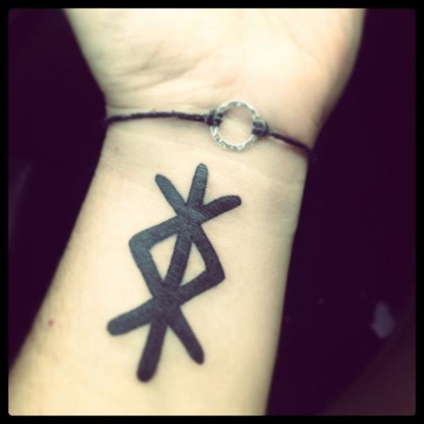 20 Rune Tattoos For Women Using The Viking Elder Futhark