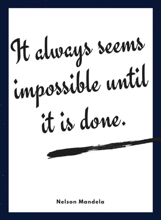 nelson mandela motivational quote for kids