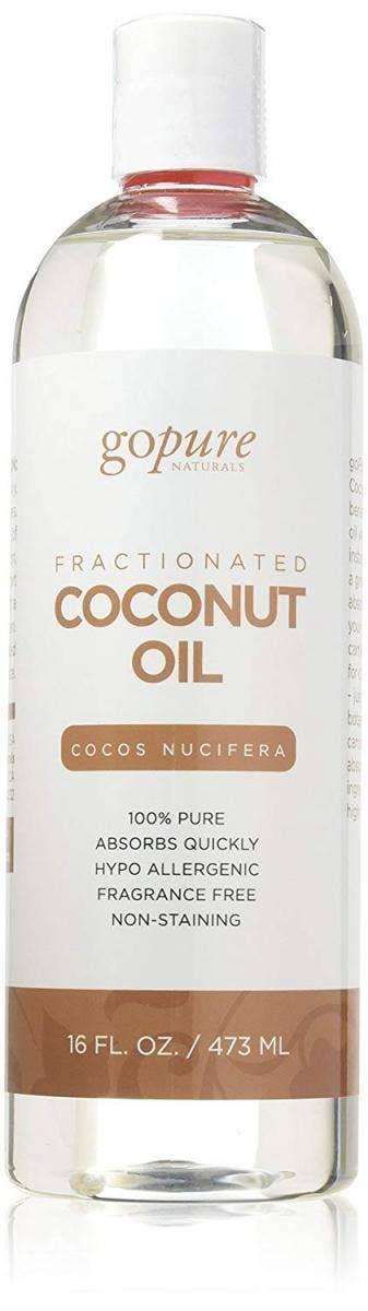 best coconut oil for skin face body hair gopure
