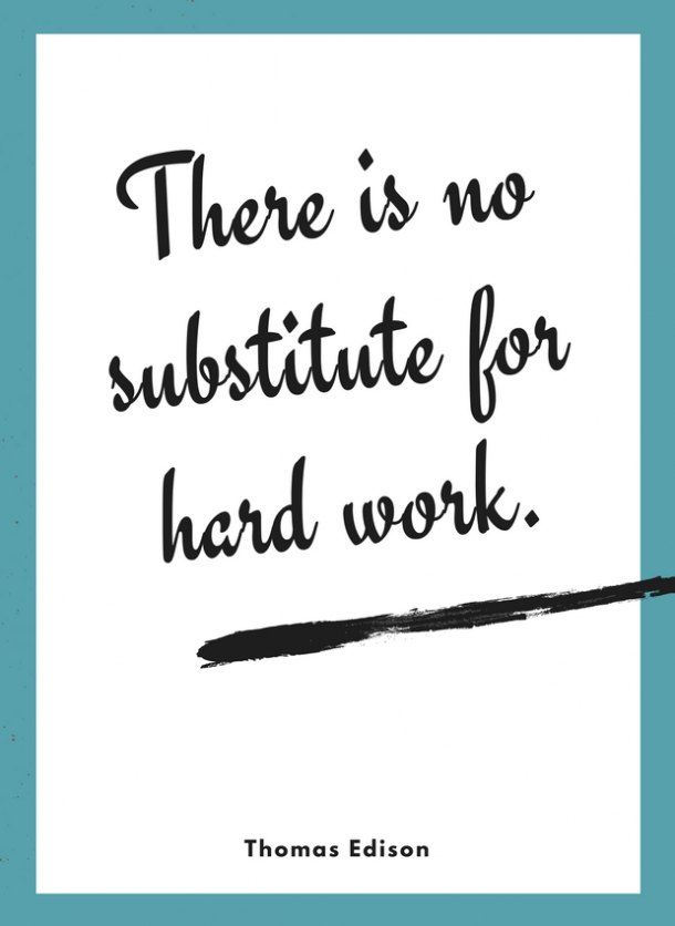 thomas edison motivational quote for kids