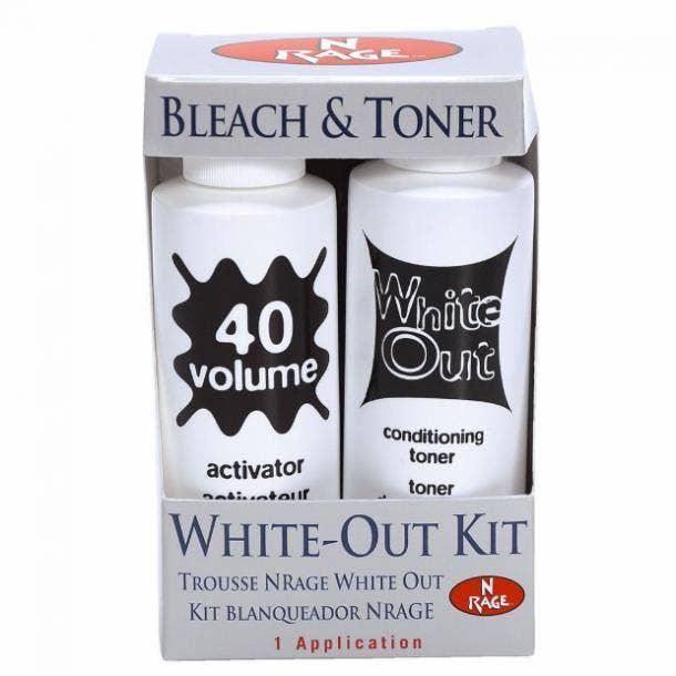 N'Rage Bleach And Toner Kit best toner for blonde hair