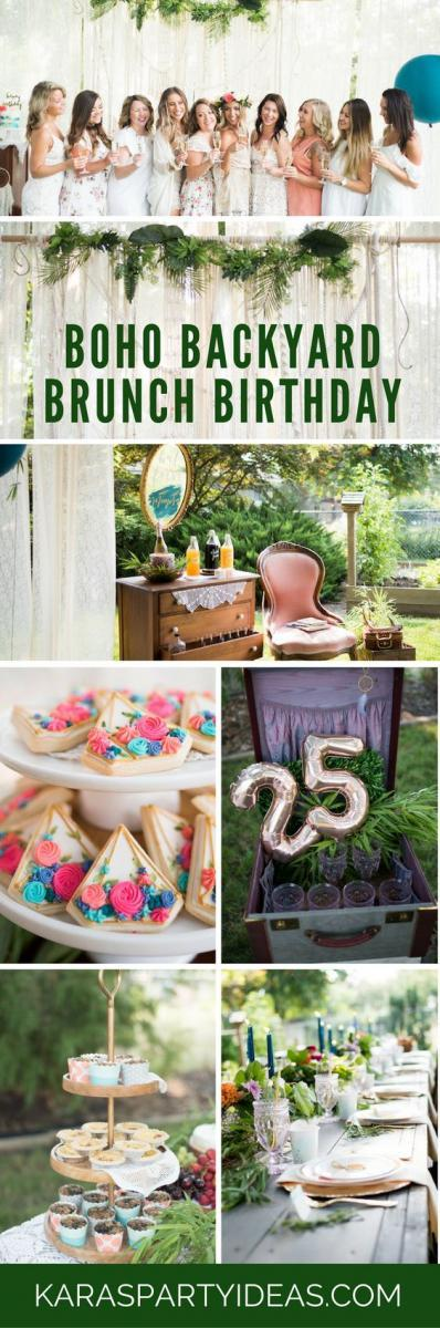 Looking For A Boho Chic Birthday Theme Love Brunching Okay Who Doesnt Brunch Heres Another Fun Party Idea You Will