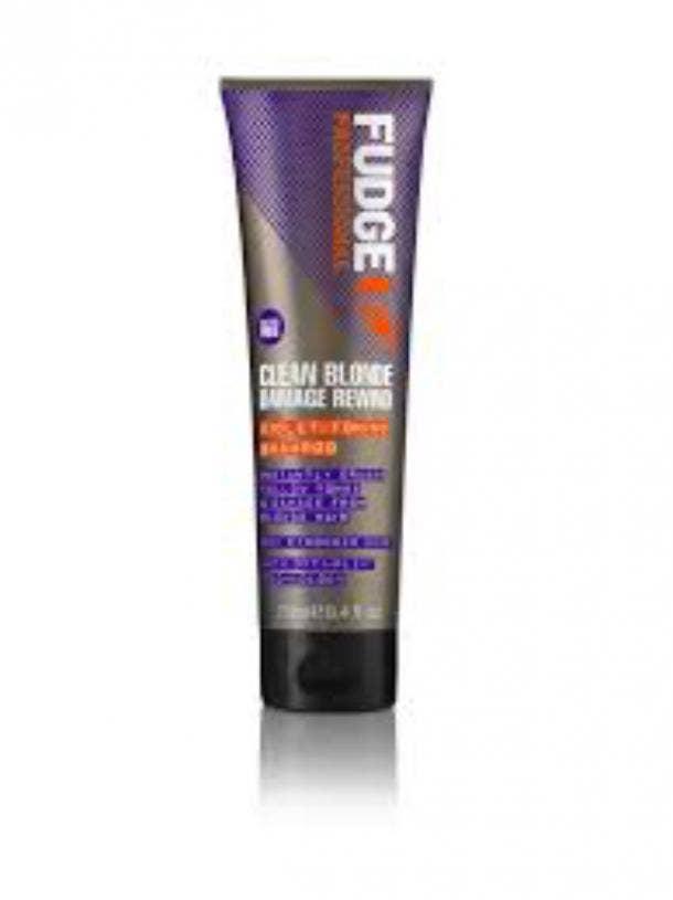 Fudge Clean Blonde Damage Rewind Shampoo best toner for blonde hair