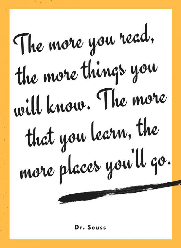 dr seuss motivational quote for kids