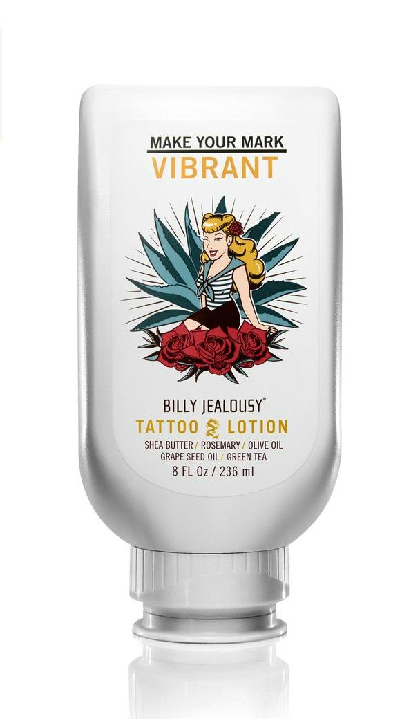 lotion for tattoos Billy Jealousy Tattoo Lotion