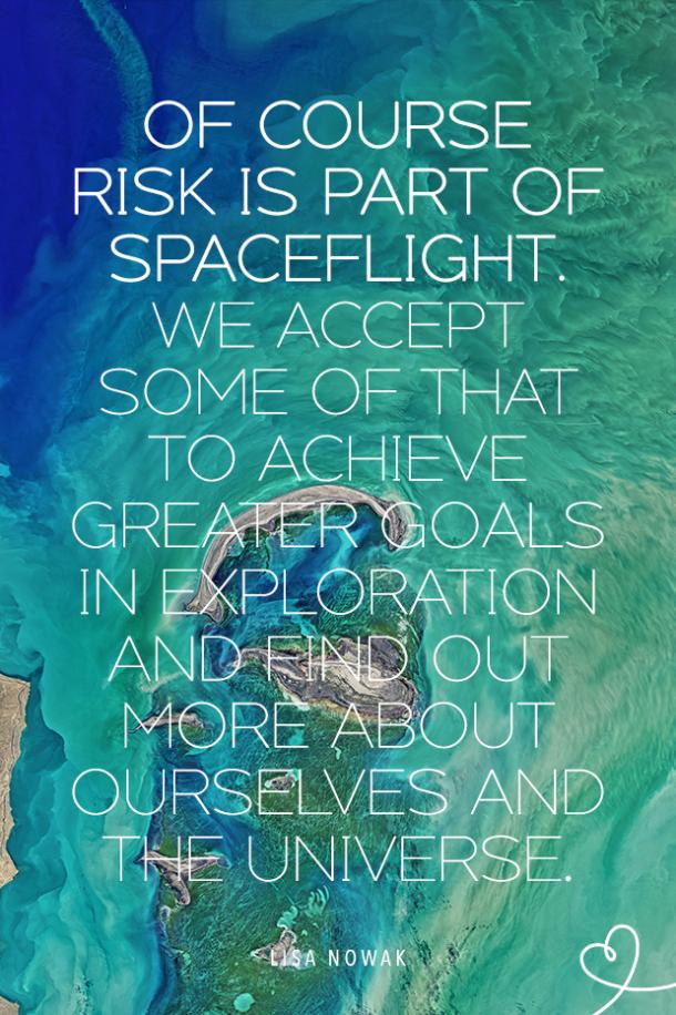 lisa nowak space quotes