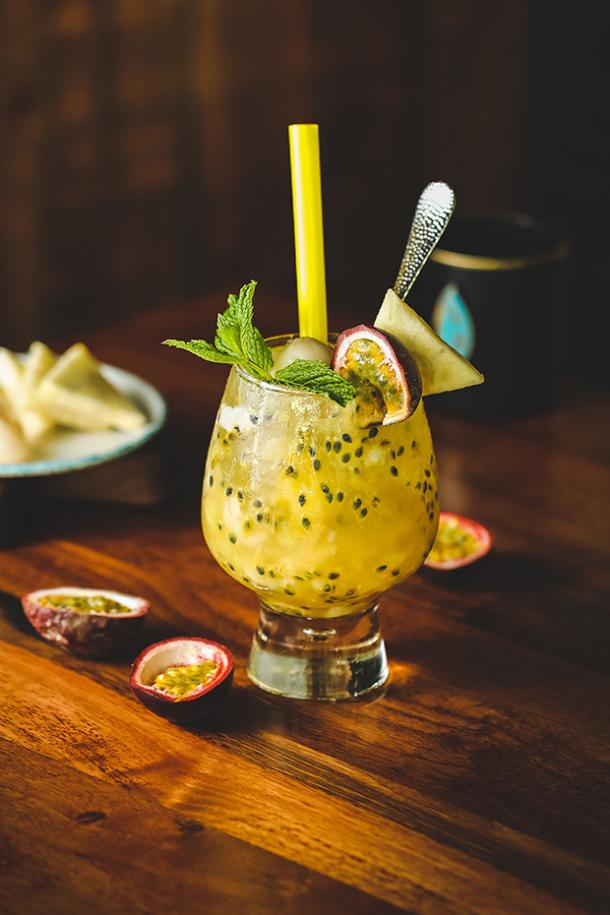 Passion Fruit Mojitos BBQ Cocktail Drink Recipes