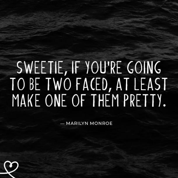 Marilyn Monroe bad friends quotes