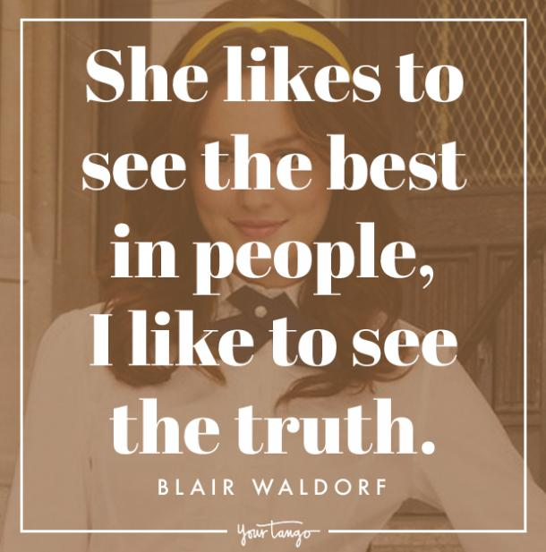 Best Blair Waldorf Memes Gossip Girl Quotes