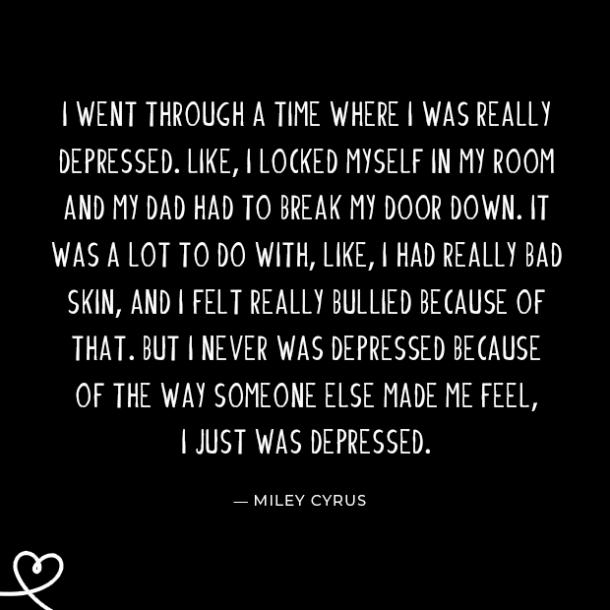 30 Depression Quotes From Celebrities That Remind You That ...
