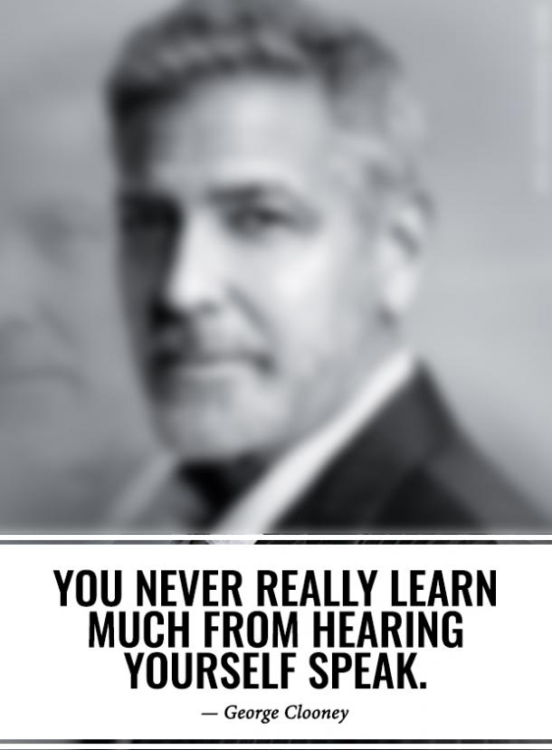28 Wise George Clooney Quotes About What's Really Important & How To Work Hard To Be Successful CelebrityGeorgeClooneyQuotes2