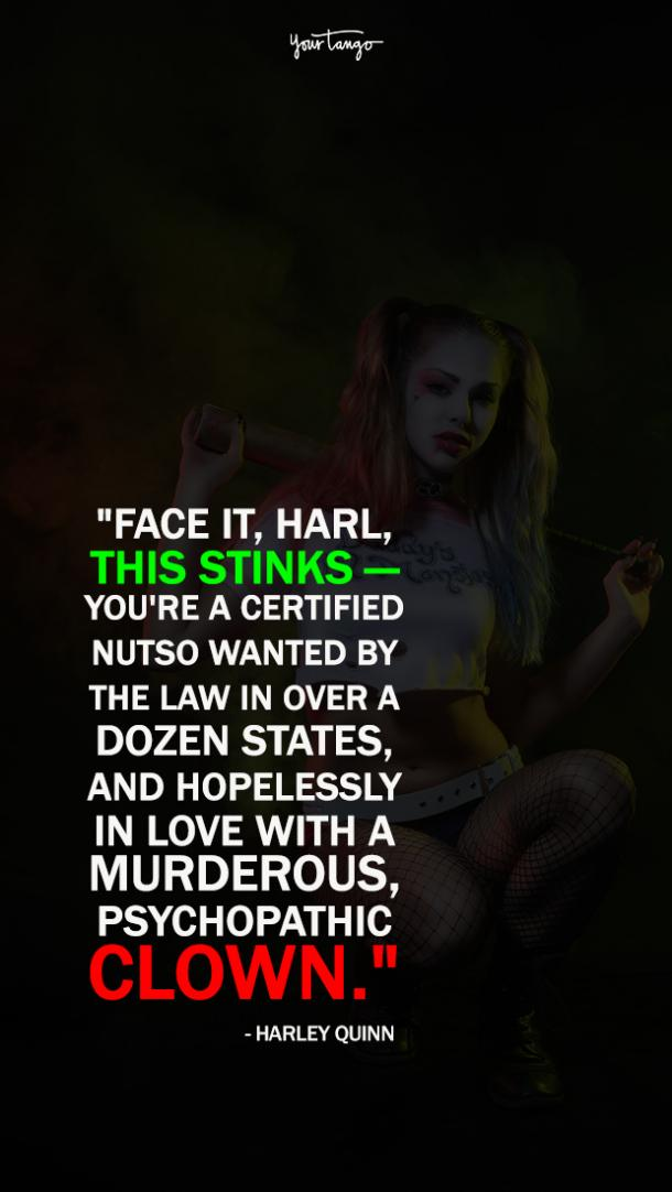 Daddy S Lil Monster 15 Best Most Inspiring Harley Quinn Quotes
